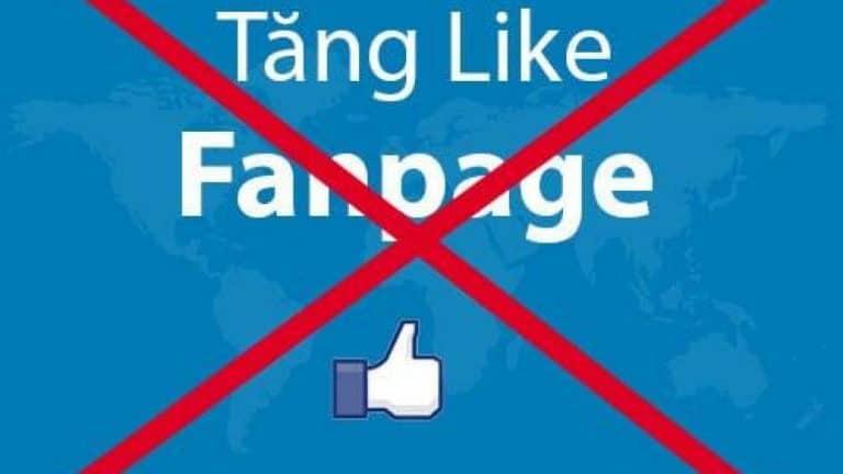 Đừng bao giờ Mua Like Facebook