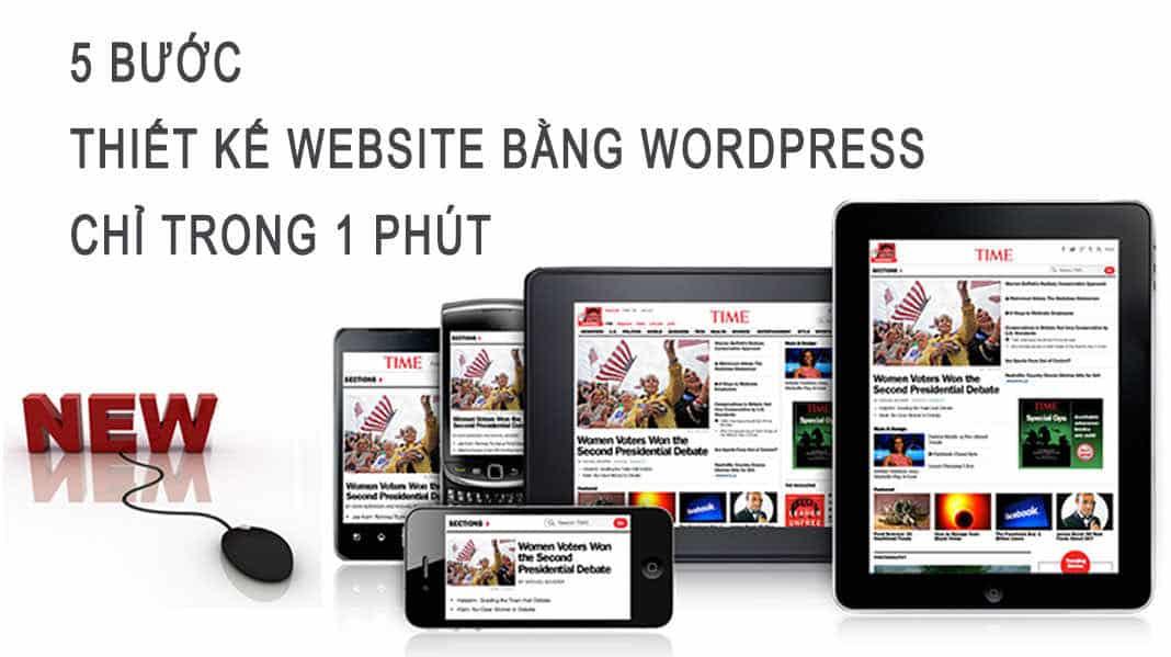 5 buoc thiet ke website trong vong 1 phut truong dinh nam