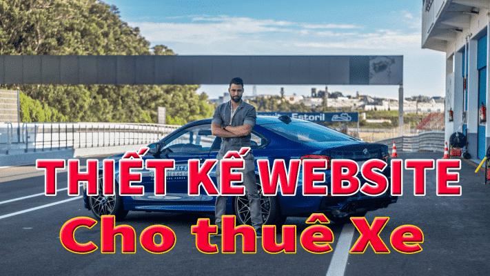 Thiết kế website cho thuê xe