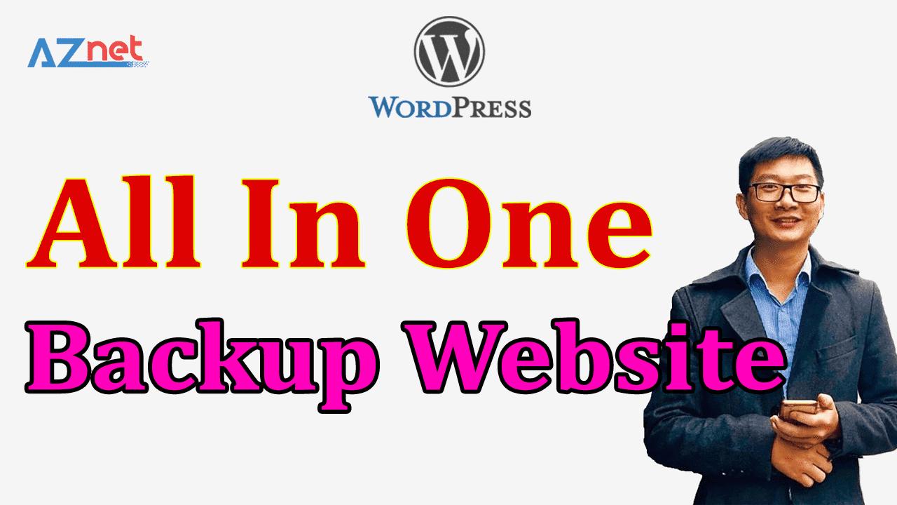 backup website all iin one