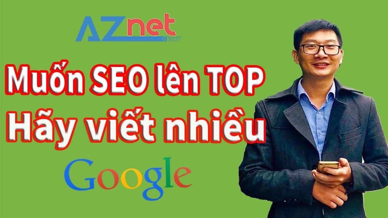 Để SEO website lên TOP Google nhanh