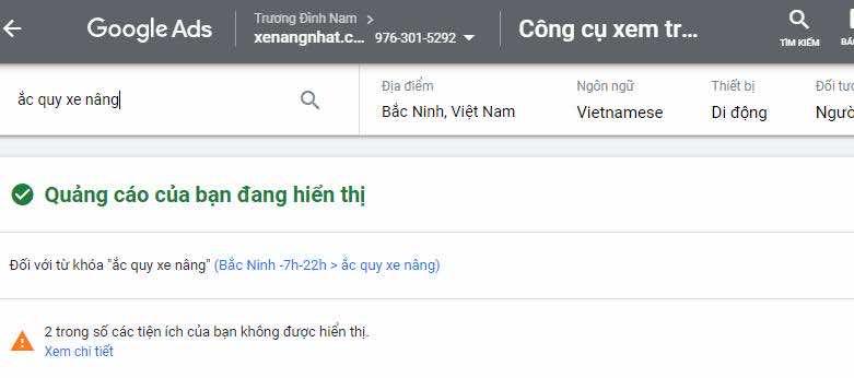 Cách kiểm tra quảng cáo Google đúng cách