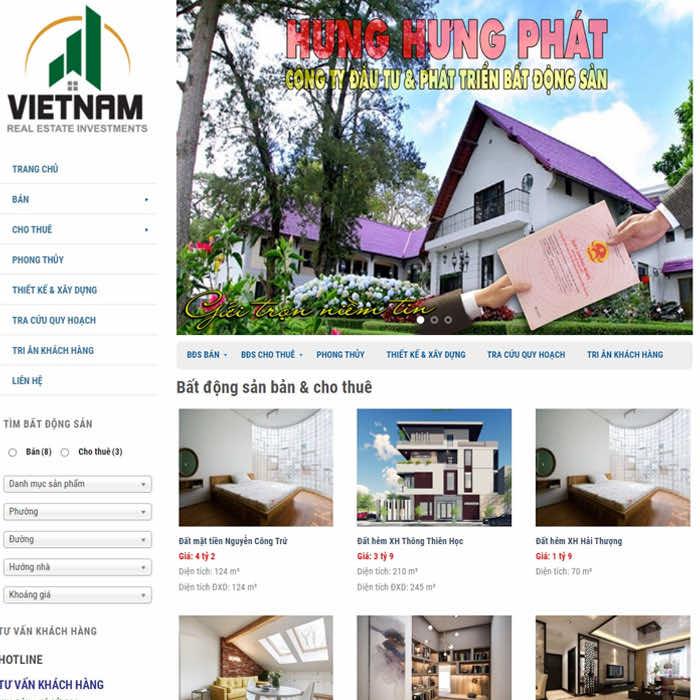 BĐS 13 – Website bất động sản Bán và Cho Thuê