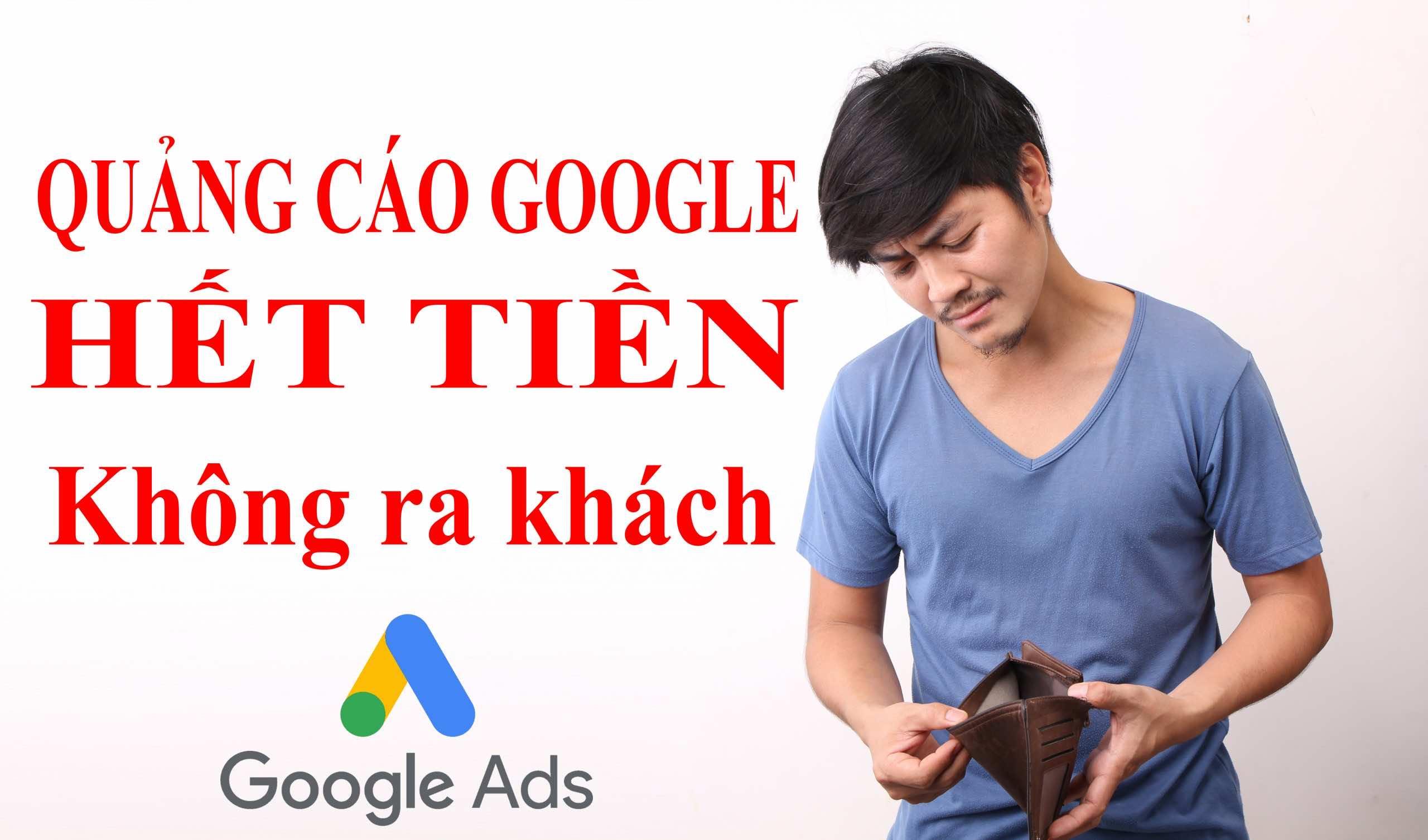 Giá thầu quảng cáo Google quá cao