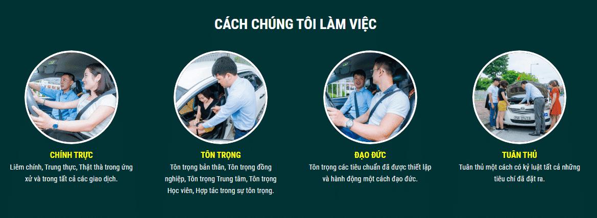 Dạy Lái Xe - Mẫu Website Đào Tạo Lái Xe Wordpress