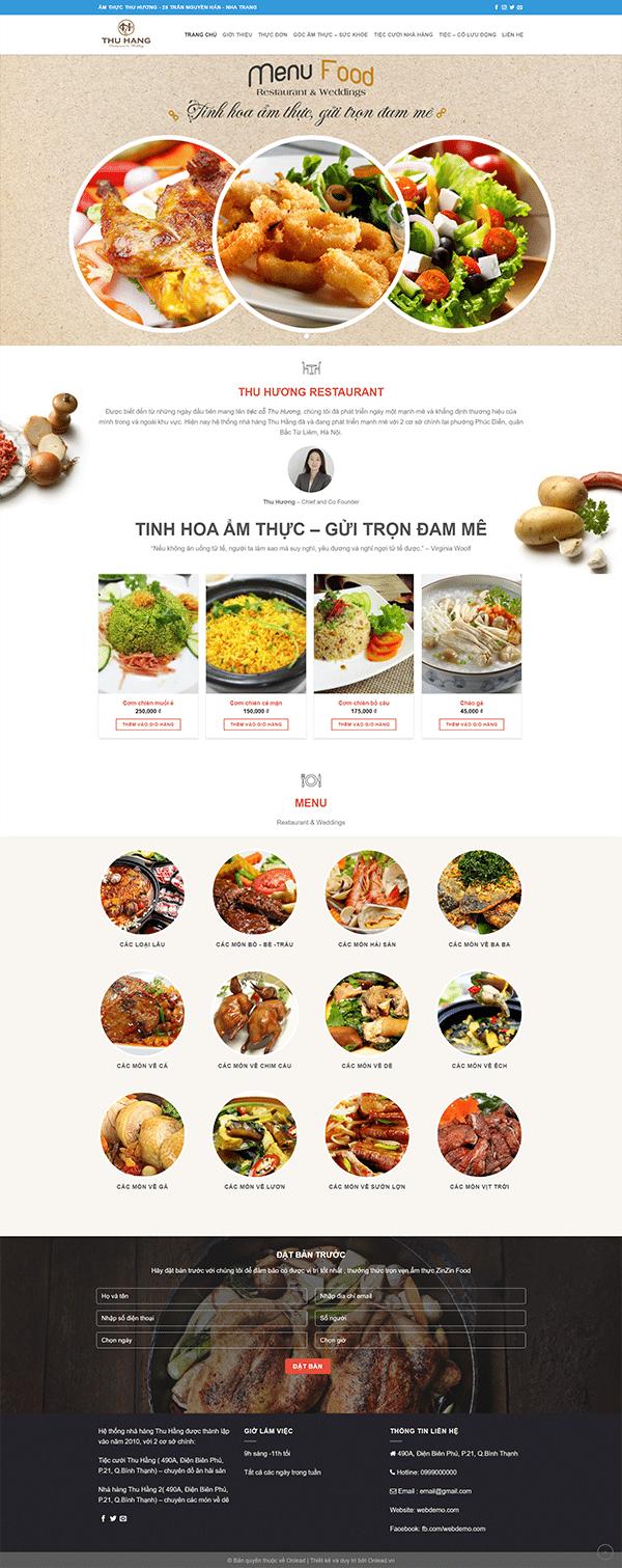 Nha Hang 2 Vnwordpress