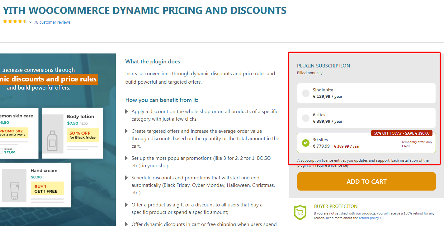 Yith Woocommerce Dynamic Pricing And Siscounts Premium
