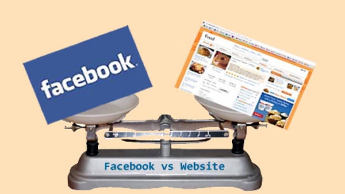 facebook va webiste