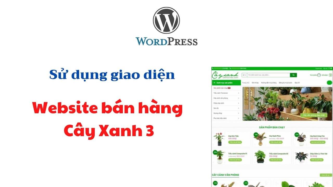 Huong Dan Su Dung Giao Dien Website Ban Hang Cay Xanh 3 Tai Aznet
