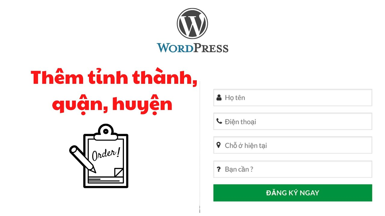 Them Tinh Thanh Quan Huyen Vao Form Dat Hang Cho Website Wordpress