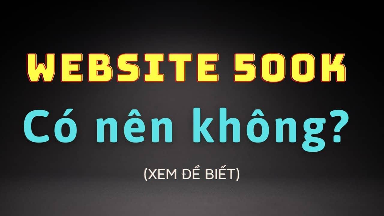 Website 500K